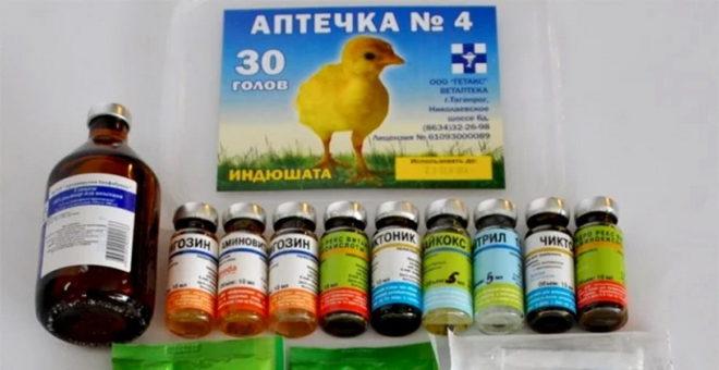 Антибиотки для кур