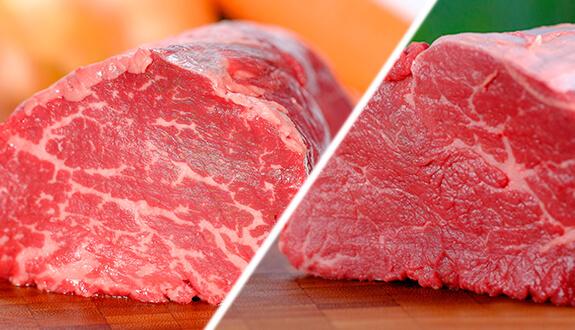 Мраморное и простое мясо отличия